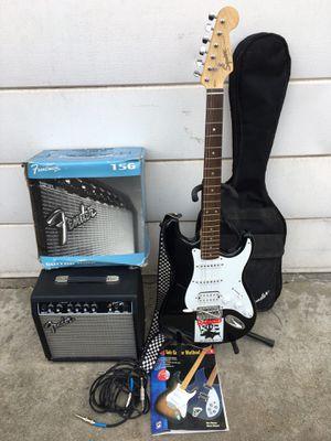 Fender Squier Strat Electric Guitar for Sale in Fresno, CA