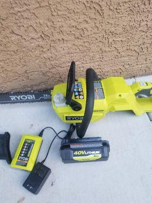 Ryobi 40v chainsaw kit for Sale in North Las Vegas, NV