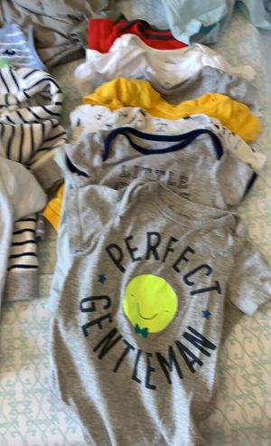 Baby boy lot of clothes and bibs - 80+ pieces for Sale in Concord, CA