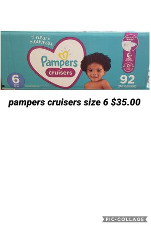 pampers cruisers size 6 for Sale in Los Angeles, CA