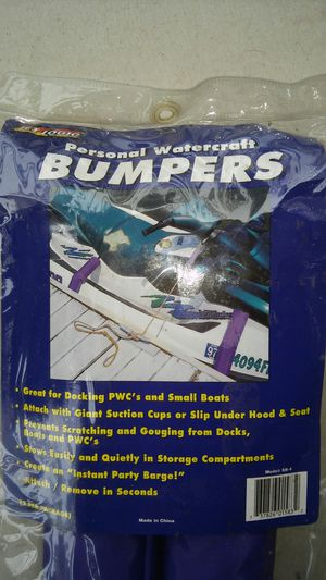 Personal Watercraft Bumpers By Jet Logic (NEW) L@@K!!! for Sale in Mesa, AZ