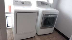 White Electric dryer excellent condition for Sale in Laurel, MD