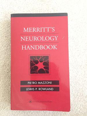 Merritts neurology handbook for Sale in Sacramento, CA