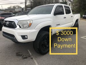 2013 Toyota Tacoma $ 3000 Down Payment for Sale in Nashville, TN