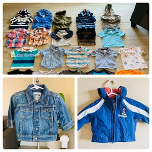 BABY BOY WINTER CLOTHES LOT SIZE 12-18 MONTHS for Sale in Goodyear, AZ