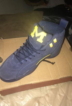 Jordan retro 12 Michigan for Sale in Detroit, MI