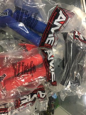 AME Bmx bike grip red blue black each for Sale in Fountain Valley, CA