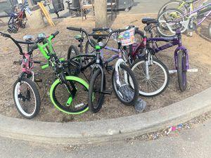 Kids bikes each for Sale in NEW CARROLLTN, MD
