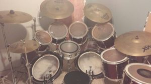 "Pearl export series drum set 9 piece ""negotiable price"" for Sale in Salt Lake City, UT"
