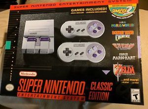 Snes Super Nintendo classic for Sale in Olney, MD