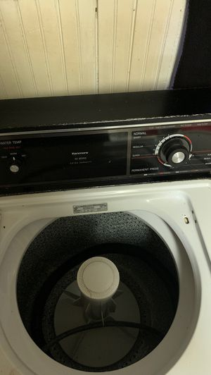 Washer an dryer set (kenmore)60 series need gone ASAP must pick up for Sale in Penn Hills, PA