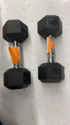 15 lb dumbbells for Sale in Lawrence, MA