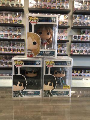 Sword Art Online Funko Set for Sale in Torrance, CA