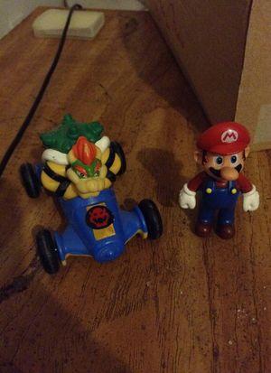Nintendo Mario and bowser toys for Sale in Manassas, VA
