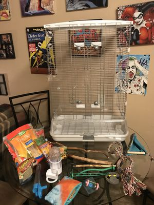 Bird cage bundle all for $75 for Sale in West Valley City, UT