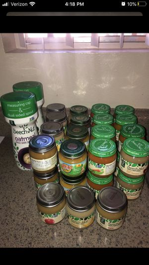 Baby food and cereal for Sale in San Bernardino, CA