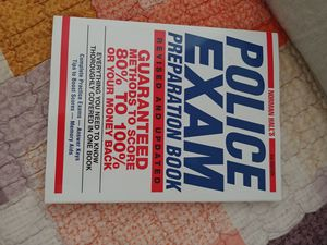 Norman Hall's Police Exam Preparation Book 2nd Edition for Sale in Rockville, MD