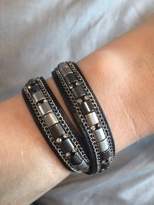Leather wrap bracelet for Sale in Salt Lake City, UT