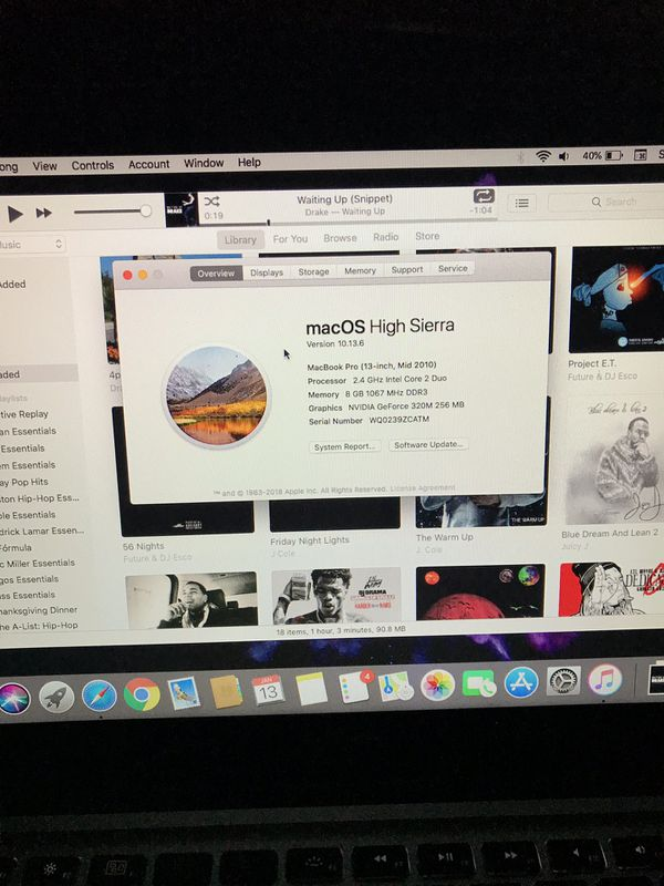 MacBook Pro 13' inch (250gb) for Sale in Houston, TX - OfferUp