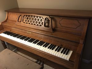 Piano with bench - CURRIER brand for Sale in Issaquah, WA