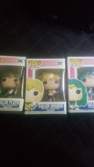FUNKO POP! SAILOR MOON [ PLUTO SOLD,URANUS, NEPTUNE] for Sale in Lynwood, CA