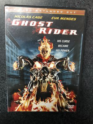 Ghost Rider DVD - Nicholas Cage, Eva Mendes for Sale in Lisbon, CT