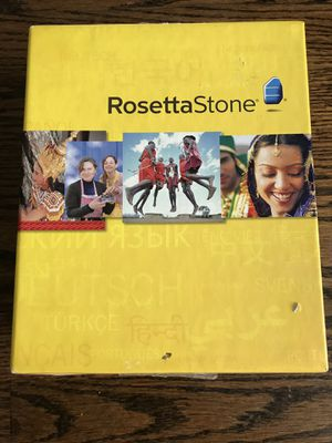 Rosetta stone hindi used for Sale in Darien, IL