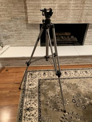 Bogen Tripod with Manfrotto head for Sale in West Bloomfield Township, MI
