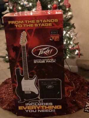 Peavey Electric Guitar Raptor Stagepack - Including 2 Free Group Lessons and a pickband! for Sale in AZ, US