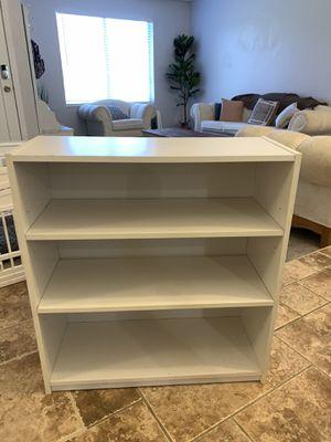 White 3 Shelf Bookcase for Sale in Phoenix, AZ