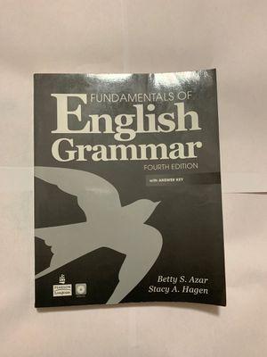 Fundamental of English Grammar (fourth edition) with audio cd for Sale in Opa-locka, FL