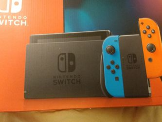 New Nintendo switch With 4 New Games for Sale in Washington,  PA