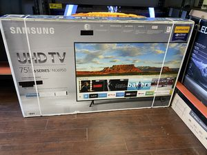 75 INCH SAMSUNG SMART 4K BRAND NEW HUGE SALE TVS 2019 ! BRAND NEW 1 YEAR WARRANTY for Sale in Alhambra, CA