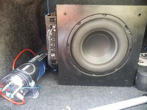 "Polk 10"" subwoofer with 850wat amp for Sale in Vero Beach, FL"