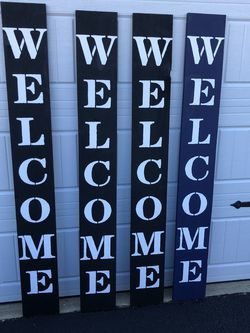 Welcome Sign for Sale in Manalapan Township,  NJ