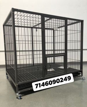 Super heavy duty dog pet cage kennel size 50 XL new in box 📦 for Sale in Montclair, CA