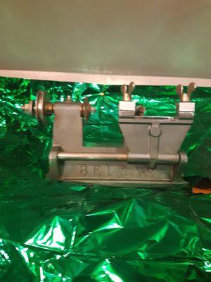 Vintage Belsaw K-350 K-351 Key Cutting Machine Locksmith with Dayton Motor for Sale in St. Louis, MO