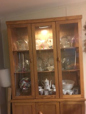 China hutch china not included for Sale in Fife Lake, MI