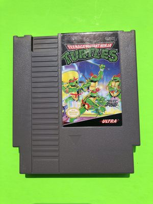 Original NES Nintendo Teenage Mutant Ninja Turtles for Sale in Missoula, MT