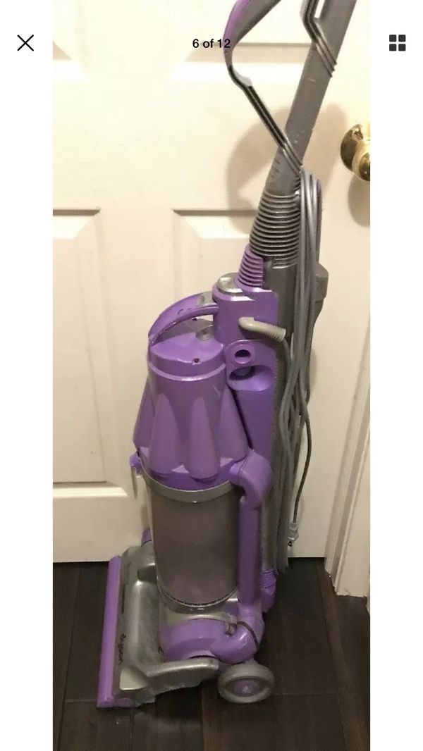 Dyson Animal DC07 Purple Vacuum Base Canister Tool Poor Suction. Condition is For parts or not working. Comes as pictured with wear from used. Includ
