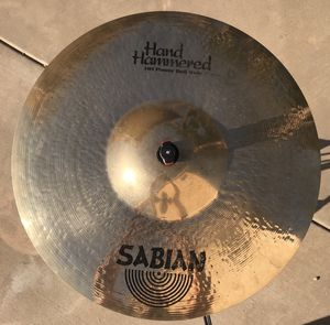 Sabian Hand Hammered Power Bell Ride for Sale in El Cajon, CA