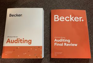 Brand New Latest Becker CPA AUD for Sale in Belmont, CA