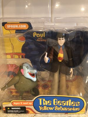 The Beatles 1999 McFarlane Toys Yellow Submarine figures/ Paul & Jeremy for Sale in Covington, WA