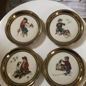 Brass Vintage Coasters for Sale in Stockton, CA