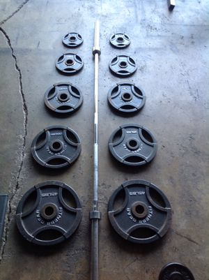 Weights and Bar for Sale in Moreno Valley, CA