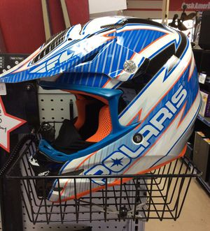 Polaris carbon open face snowmobile helmet for Sale in Kenmore, WA