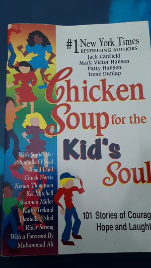 Chicken soup for kids book for Sale in Jackson Township, NJ
