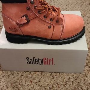 Safety Girl Fusion Work Boot -Pink- Steel Toe for Sale in Elgin, IL