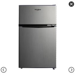 Whirlpool Mini Refrigerator Stainless Steel for Sale in Brooklyn,  NY