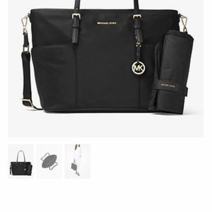 Michael Kors Black Diaper Bag for Sale in Somerset, MA